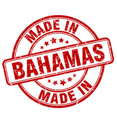 Made in bahamas vector