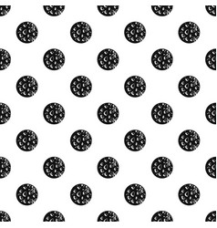 Rocky planet pattern vector