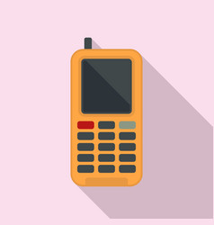 Survival phone icon flat style vector