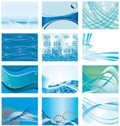 blue backgrounds vector image vector image