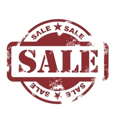 sale stamp vector image