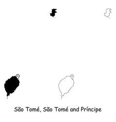 1153 sao tome sao tome and principe vector image