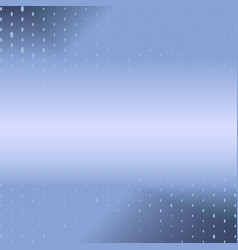 blue glowing dotted background vector image
