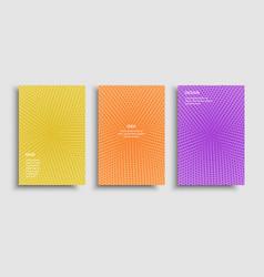 brochure vibrant multicolored vector image