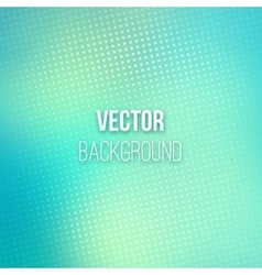Emerald Blurred Background With Halftone Effect vector