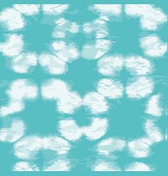 Geometric tie dye grunge texture seamless vector