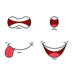 Mouth design vector