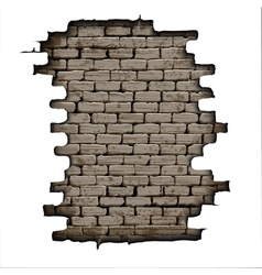 old brick background vector image