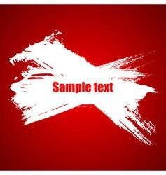 paint grunge splash vector image vector image