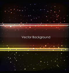 abstract colored glowing background vector image