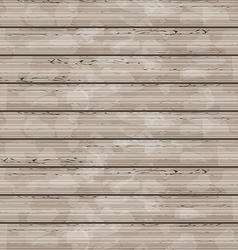 brown wooden texture grunge background vector image