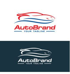 Car logo auto company logo template design vector