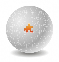 chosen puzzle concepts vector image