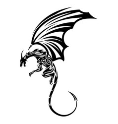dragon 12 vector image