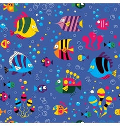 Fish pattern 3 vector