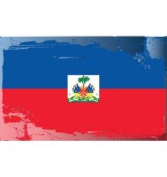 Haiti national flag vector image