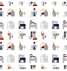 hotel personal professional service objects vector image