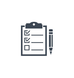 planning related glyph icon vector image