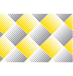 rhombus and lines geometric seamless pattern vector image