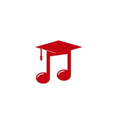 School music logo icon design vector