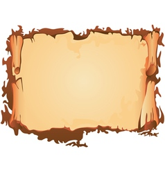 Scroll old parchment vector