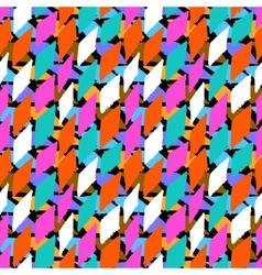 Seamless bold harlequin pattern vector