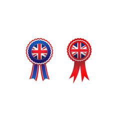 United kingdom rosett vector