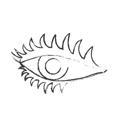 Woman eye icon vector