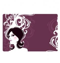 women banner vector image