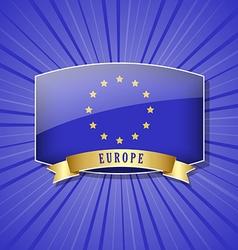 European icon vector image