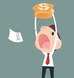Losing Money vector image vector image