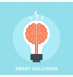 Smart Solutions vector image vector image