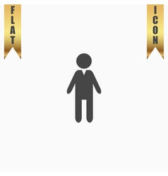 Boy flat icon vector