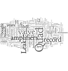 classic valve amplifiers and stuff vector image