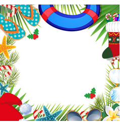 Hawaiian Merry Christmas.Hawaiian Christmas Vector Images Over 150