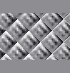 Rhombus and lines geometric seamless pattern vector