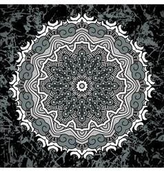 Round Decorative Design Element vector image