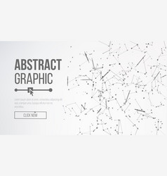 digitally generated image big data complex vector image vector image