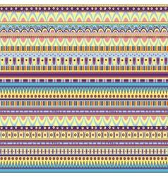 ethnic geometric pattern vector image vector image
