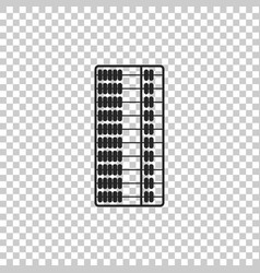 Abacus icon isolated on transparent background vector