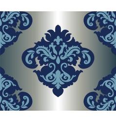 Classic original royal damask ornament vector