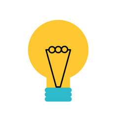 creativity idea bulb knowledge solution concept vector image