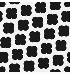 cross seamless pattern trendy black and vector image