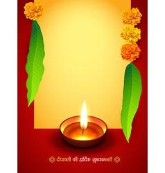 Diwali season design vector