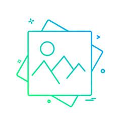 Image icon design vector