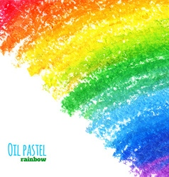 Oil pastel background vector image