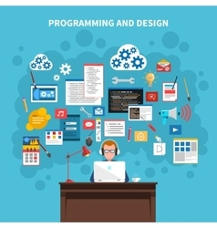 Programming Concept vector image