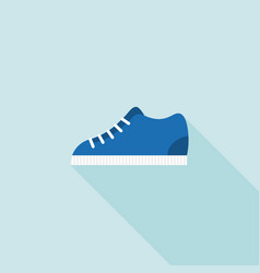 sneakers icon vector image vector image