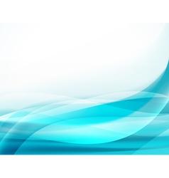 aqua blue background vector image vector image