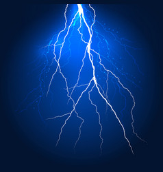 Abstract lightning background design vector